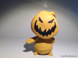 Orange Oogie Boogie Nightmare Before Christmas Funko Front