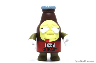 Queasy Duff Mascot Simpsons 25th Kidrobot Front