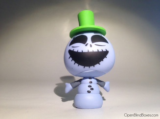Blue Snowman Nightmare Before Christmas Funko Front