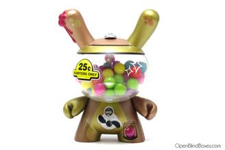 Mister Frames Gold Bubblegum 2011 Dunny Kidrobot Front