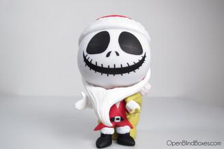 Santa Jack Nightmare Before Christmas Funko Front
