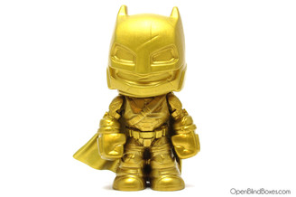 Gold Armored Batman V. Superman Funko Mystery Minis Front