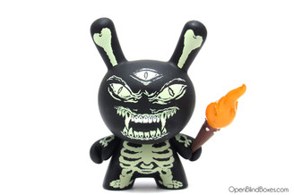 Kill With Power Mishka Dunny Lamour Supreme Kidrobot Front