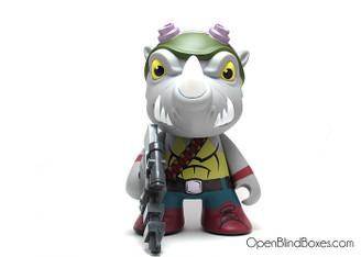 Rocksteady TMNT Kidrobot 7 Inch Front