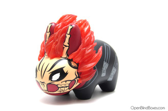 Ghost Rider Marvel Labbit Frank Kozik Kidrobot Front