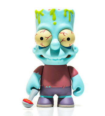Zombie Bart Simpson 6 Inch Kidrobot Front