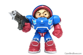 Stars and Stripes Raynor Heroes Of The Storm Funko Mystery Minis Front