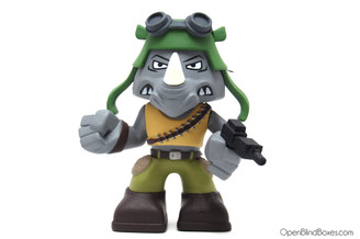 Rocksteady Funko Mystery Minis TMNT Front