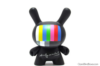15 Minutes TV Andy Warhol Dunny Kidrobot Front