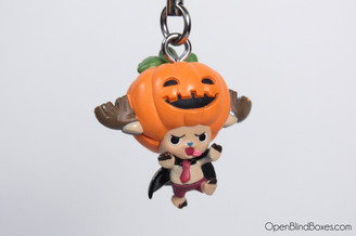 Chopper Halloween Pumpkin Head Cell Phone Charm