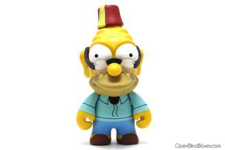Grandpa Abe Simpson The Simpsons Series 2 Kidrobot Front