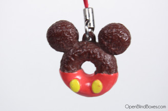 Mickey Mouse Donut  Cell Phone Charm