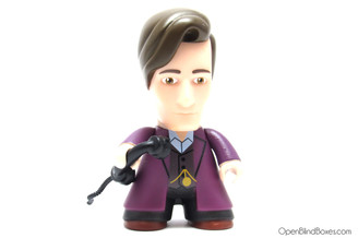 11th Doctor in Purple Rebel Time Lord Titans Front