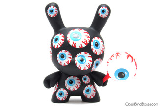 Keep Watch Pattern Mishka Dunny Kidrobot Front