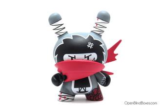 Ninja Spiki Nakanari Dunny 2012 Kidrobot Front