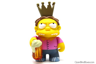 Plow King Simpsons 25th Anniversary Kidrobot Front