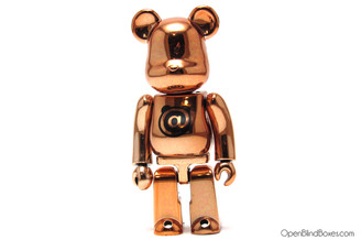 Basic Bronze Be@rbrick @ Series 15 Medicom Front