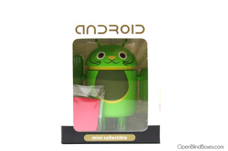 Green Lucky Cat Android Andrew Bell DYZPlastic Front