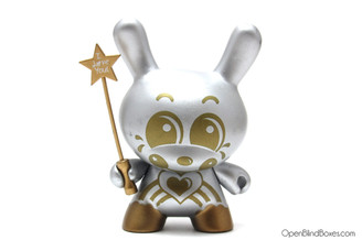 Sket-One Dae Dae Silver Chase Dunny Kidrobot Series 2 Front