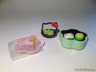 Hello Kitty Japanese Sweets Bento Picnic
