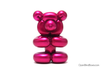 Fuchsia Balloon Bear Pop Super Shiny Mini Series Kidrobot Front