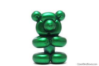 Green Balloon Bear Pop Super Shiny Mini Series Kidrobot Front
