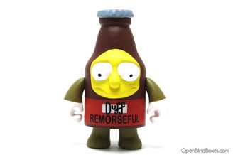 Remorseful Duff Simpsons 25th Anniversary Kidrobot Front