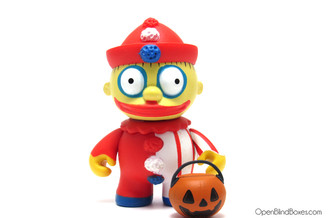 Clown Ralph Wiggum Simpsons Treehouse Of Horror Kidrobot Front
