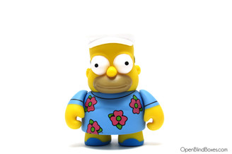 Fat Muumuu Homer Simpsons 25th Kidrobot Front