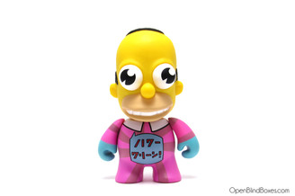 Mr. Sparkle Pink Simpsons 25th Kidrobot Front
