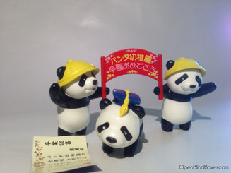 Panda Graduation RE-Ment Miniature