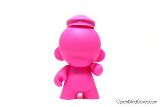 Pink munny 4 Inch hat Kidrobot front