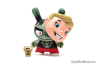 Ghoulie Jack The Odd Ones Dunny Kidrobot Scott Tolleson Front