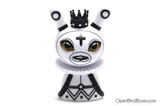 Shah Mat White King Chess Dunny Otto Bjornik Kidrobot Front