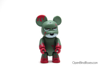 Redrum Grey Red Qee Frank Kozik Toy2R Front