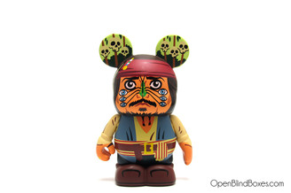 Captain Jack Sparrow Movieland Disney Vinylmation Front
