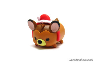 Bambi Santa Hat Tsum Tsum Disney Advent Front