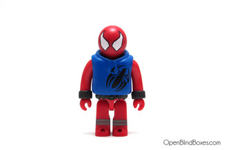 Spiderman Hoodie Kubrick Marvel Series 4 Front