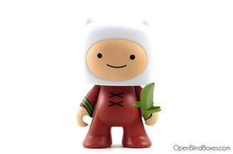 Finn With Grass Sword Adventure Time Kidrobot Front