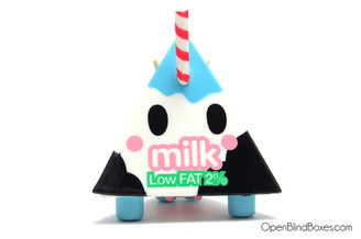 Low Fat 2% Milk Moofia Series 2 Tokidoki Front