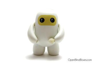 White Ninjatown Shawnimals Kidrobot Wee Ninja Front