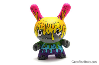 The Bots Melt Monster DTA Dunny Kidrobot Front