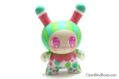 So Youn Lee Watermelon DTA Dunny Kidrobot Front