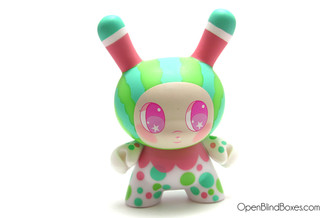 So Youn Lee Watermelon DTA Dunny Kidrobot Front