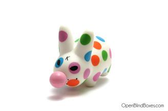 Bubblegum Mini Smorkin Labbit Series 3 Frank Kozik Front