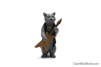 Bass Kitty Cats Rock Rement Front