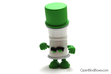 Green Racked Bent World Spray Cans Mad Kidrobot Front