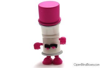Pink Racked Bent World Spray Cans Mad Kidrobot Front