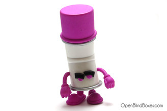 Purple Racked Bent World Spray Cans Mad Kidrobot Front