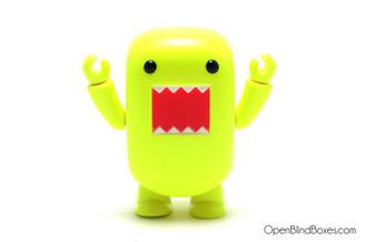 Yellow Neon Domo Qee Toy2R Front